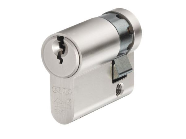 E60NP Euro Half Cylinder Nickel Pearl 10mm / 50mm Box