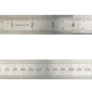 ASR 300 Precision Steel Rule 300mm (12in)