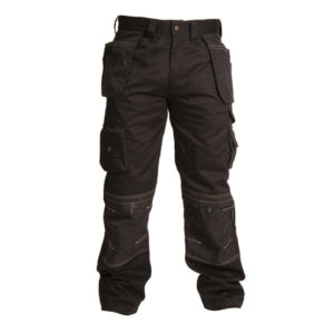 Black Holster Trousers Waist 40in Leg 31in