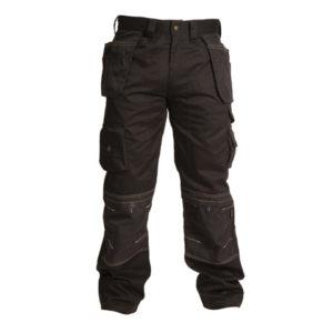 Black Holster Trousers Waist 34in Leg 31in