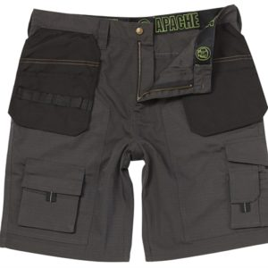 Grey Rip-Stop Holster Shorts Waist 40in