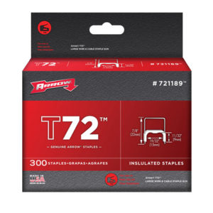 T72 Insulated Staples 9 x 15mm Box 300