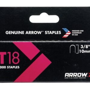 T18 Staples 10mm (3/8in) Box 1000