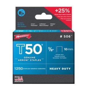T50 Staples 10mm (3/8in) Bulk Pack 5000