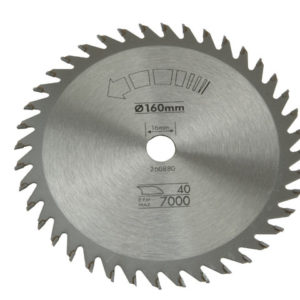 Circular Saw Blade 160 x 16mm x 40T Fine Cross Cut