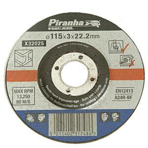X32025 Proline Metal Cut Off Disc 115mm