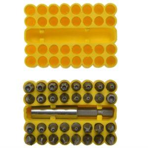 Security Bit Set 33 Piece