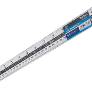Aluminium Ruler 300mm (12in)