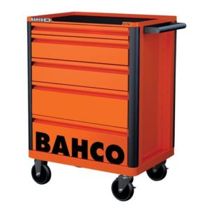 5 Drawer B Tool Trolley K Orange