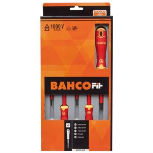 BAHCOFIT Insulated Scewdriver Set of 5 SL/PH