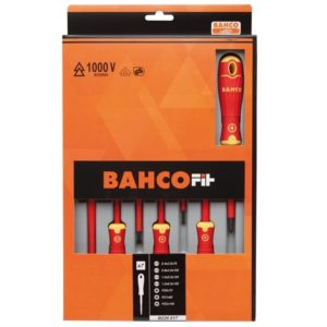 BAHCOFIT Insulated Screwdriver Set of 7 SL/PZ