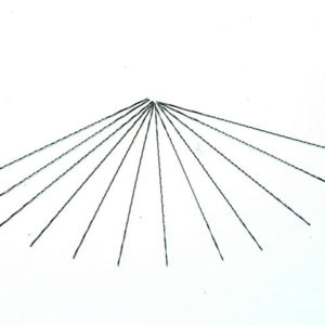 302-83S-12P Spiral Fret Saw Blades Medium 130mm (5in) (Pack of 12)