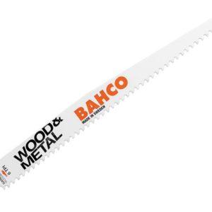 Wood & Metal Bi-Metal Reciprocating Blade 228mm 6 TPI (Pack 5)