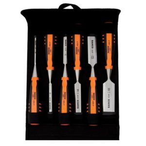 424-P Bevel Edge Chisel Set 6 Piece in Pouch