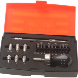 808050S-18 Stubby Ratchet Screwdriver Set of 18