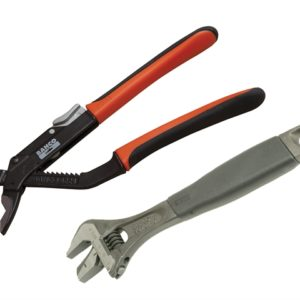 9873 Adjustable & Slip Joint Pliers Set