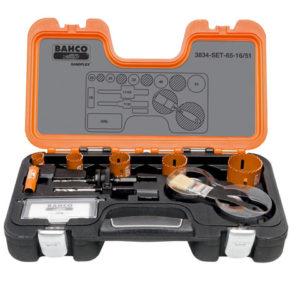 Professional Holesaw Set 3834 16/51 Sizes: 16-51mm