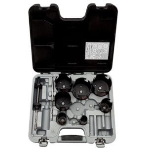 Multi-Construction Superior™ Holesaw Set 9 Piece