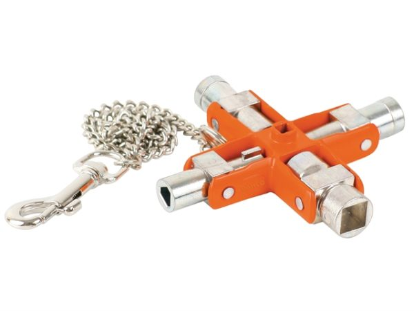9-in-1 Switch Cabinet Master Key