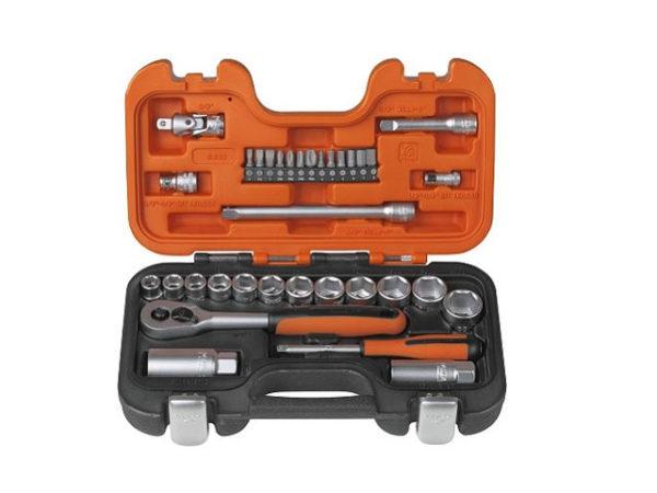 S330 Socket Set of 34 Metric 1/4in & 3/8in Drive