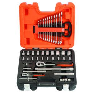 S410 Socket & Spanner Set of 41 Metric 1/4in & 1/2in Drive