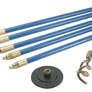 1323 Lockfast 3/4in Drain Rod Set 2 Tools