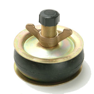 1960 Drain Test Plug 10mm (4in) - Plastic Cap