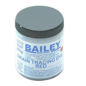 3590 Drain Tracing Dye - Red
