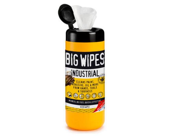 Industrial Multi-Purpose Wipes Tub of 40