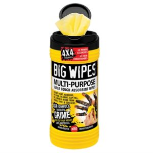 4x4 Multi-Purpose Cleaning Wipes Tub of 80