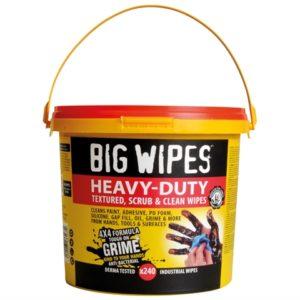 4x4 Heavy-Duty Cleaning Wipes Bucket of 240