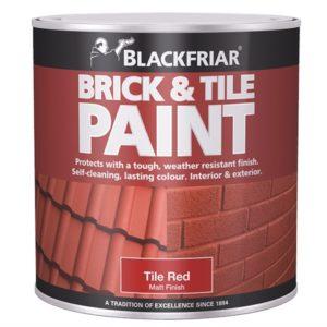 Brick & Tile Paint Matt Red 250ml