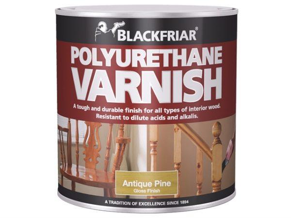 Polyurethane Varnish Satin Golden Oak 500ml