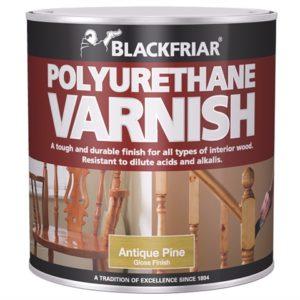 Polyurethane Varnish P45 Medium Oak Gloss 250ml