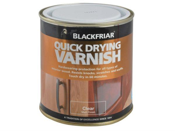 Quick Drying Duratough Interior Varnish Clear Matt 250ml