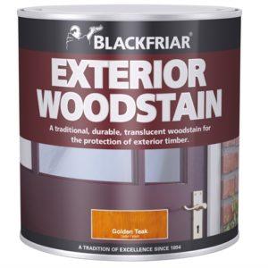 Traditional Exterior Woodstain Ebony 1 litre