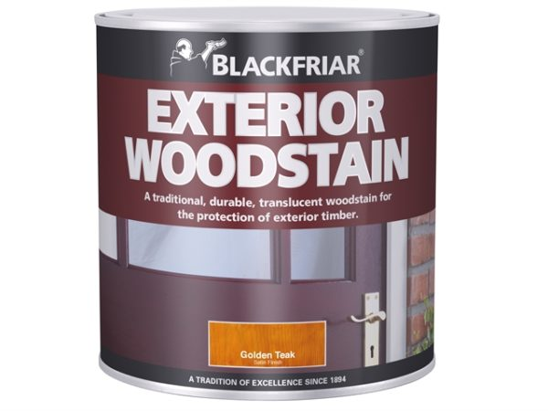 Traditional Exterior Woodstain Rich Mahogany 1 litre