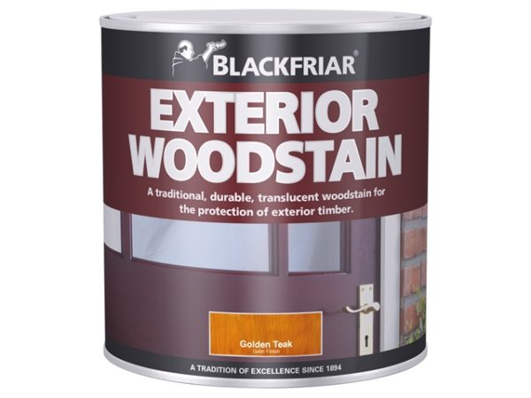 Traditional Exterior Woodstain Brown Mahogany 500ml