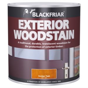 Traditional Exterior Woodstain Ebony 500ml
