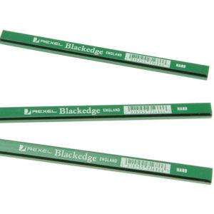 Carpenter's Pencils - Green / Hard Card of 12