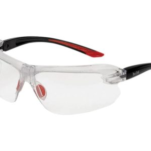 IRI-S Safety Glasses - Clear Bifocal Reading Area +3.0