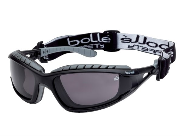 TRACKER PLATINUM® Safety Goggles Vented Smoke