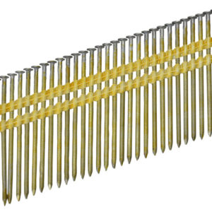 21° Galvanised Ring Shank Stick Nails 3.1 x 90mm Pack of 2000