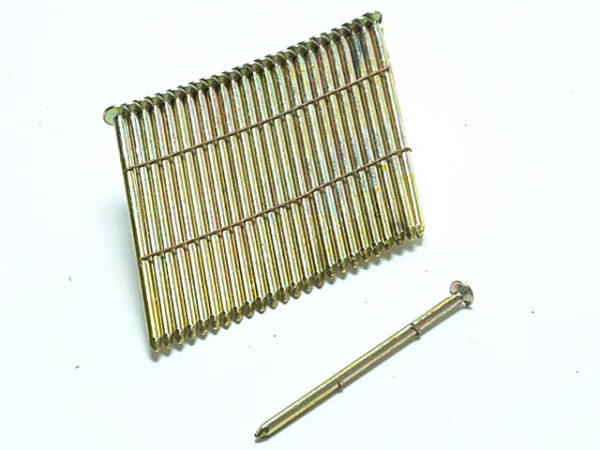 28° Galvanised Ring Shank Stick Nails 3.1 x 90mm Pack of 2000