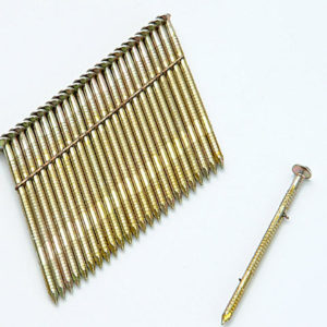 28° Galvanised Ring Shank Stick Nails 2.8 x 75mm Pack of 2000