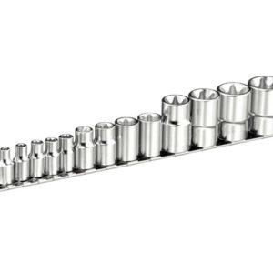 Torx Socket Set of 13 1/4 3/8 & 1/2in Drive