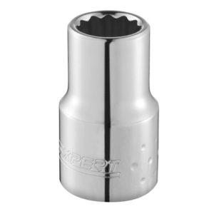 Bi-Hexagon Socket 12 Point Regular 1/4in Drive 7/32in