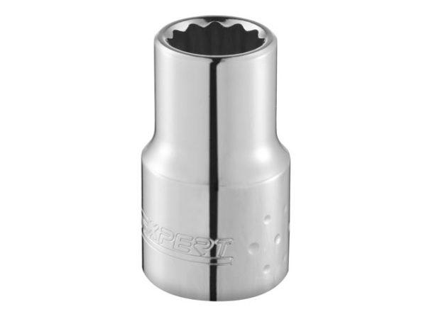 Bi-Hexagon Socket 12 Point Regular 1/4in Drive 1/2in