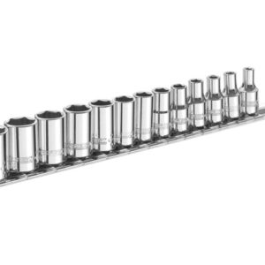 Socket Set of 13 Metric 1/4in Drive