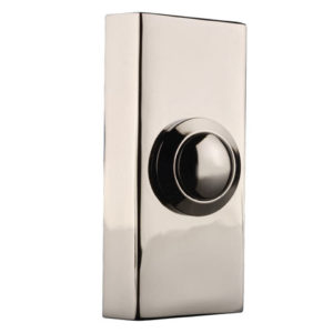 2204BC Wired Doorbell Additional Chime Bell Push Chrome